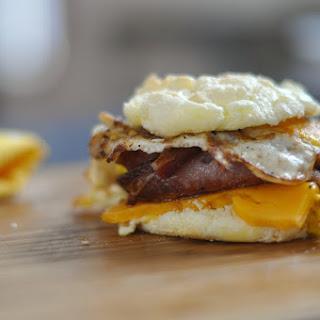 NYC Deli Breakfast Sandwich - Low Carb, Gluten Free, Ketogenic.