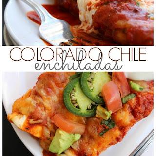 Colorado Chile Enchiladas