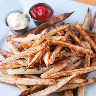 Seasoned Baked French Fries.