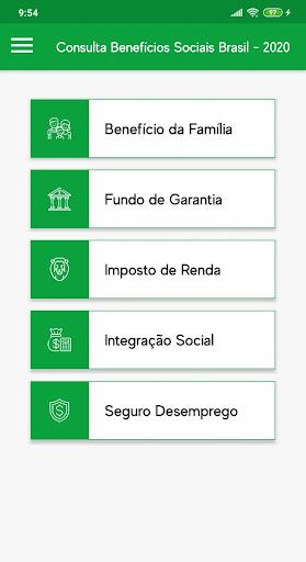 Consulta Benefícios Sociais Brasil - 2020 screenshot 1
