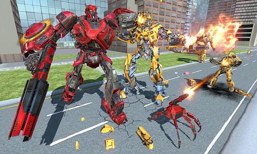 US Police Transform Iron Robot Spider Hero 1.0.3 screenshots 4