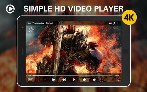 Simple 4k Video Player - Mx Player, Media Player App Report