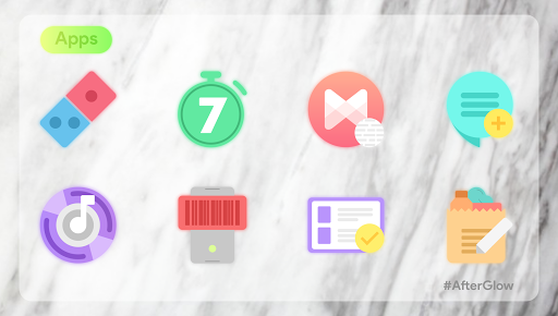 Afterglow Icons Free 2.3.4 screenshots 2