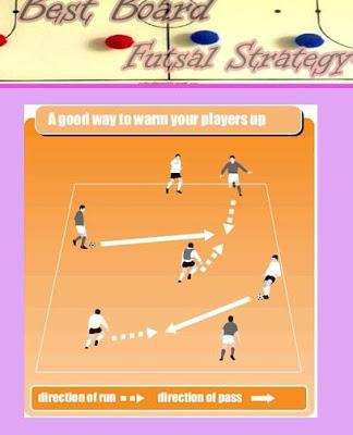 Board Futsal Strategy - screenshot