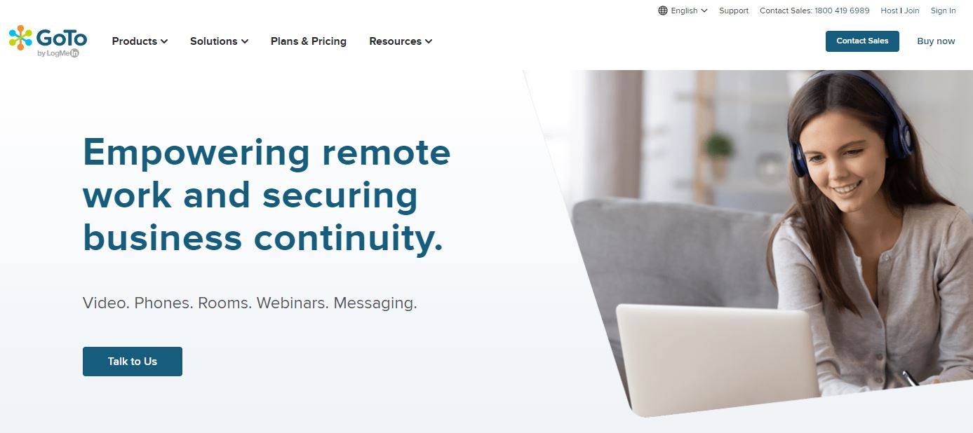 GoToConnect is one of the Small Business Phone Services