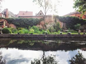 Photo: Blick von Außerhalb auf ehemalige Stadtmauer