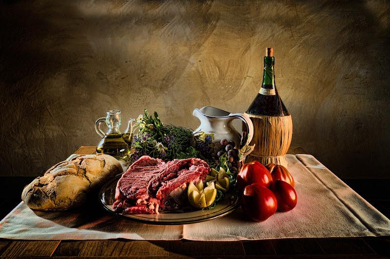 Toscana a tavola di Nicola Serena