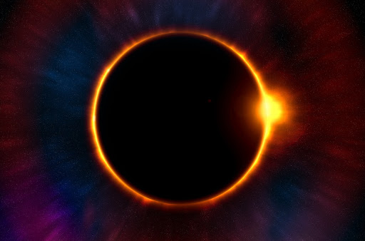 Imagine seeing a total solar eclipse like this at sea.