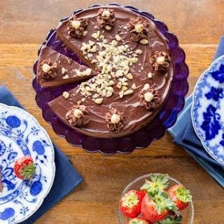 Chocolate Hazelnut Mousse Cake.
