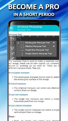 photoshop tutorial - complete course - offline screenshot 3