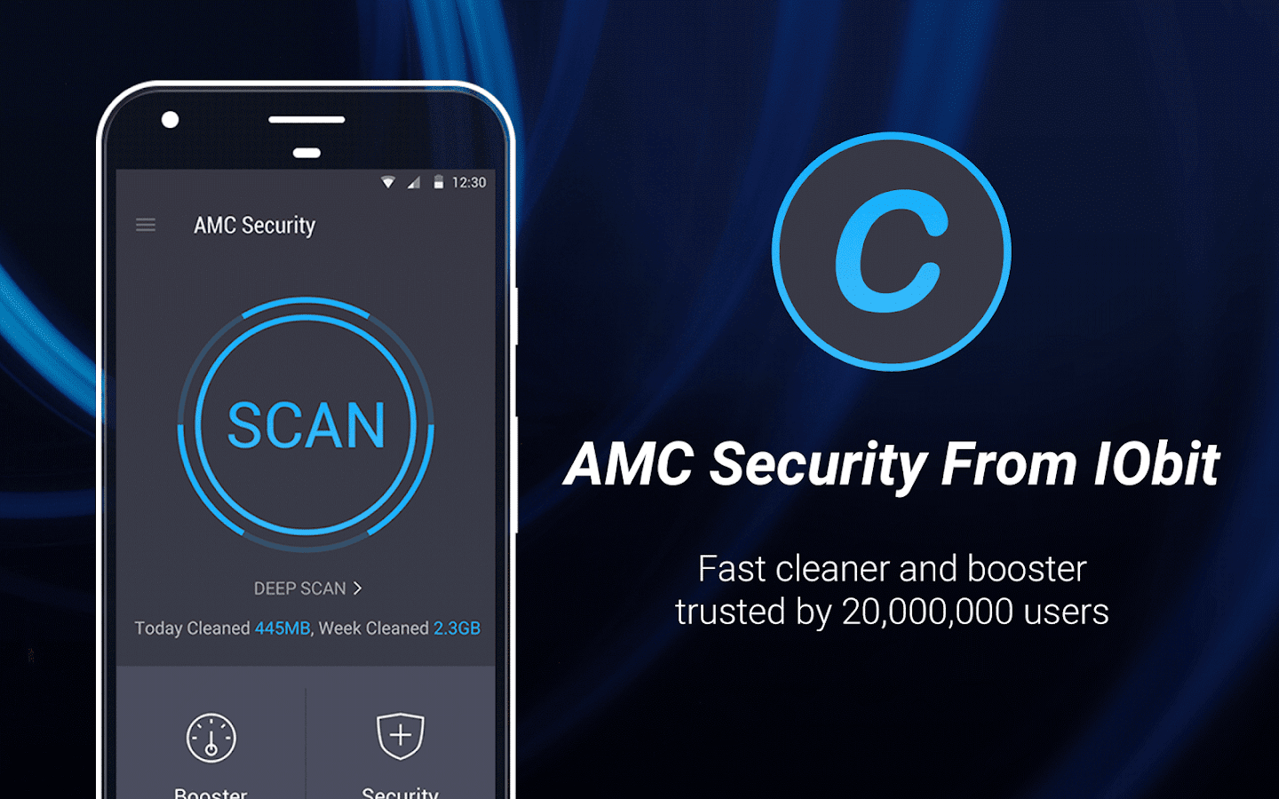 AMC Security - Clean & Boost – screenshot