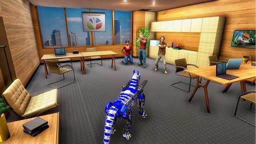 Robot Dog Simulator Subway Dog Police Dog Games apktram screenshots 4