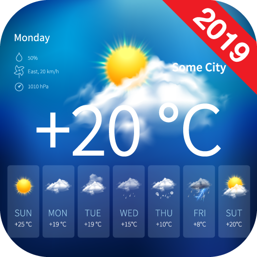 Screenshot for Live Weather Forecast Radar 2019 in United States Play Store