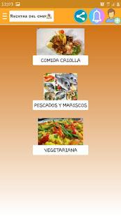 Recetas del chef for PC-Windows 7,8,10 and Mac apk screenshot 3