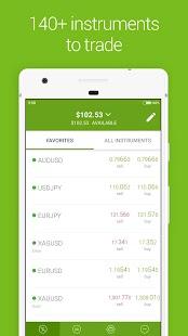 Forex4you Trading Platform - náhled