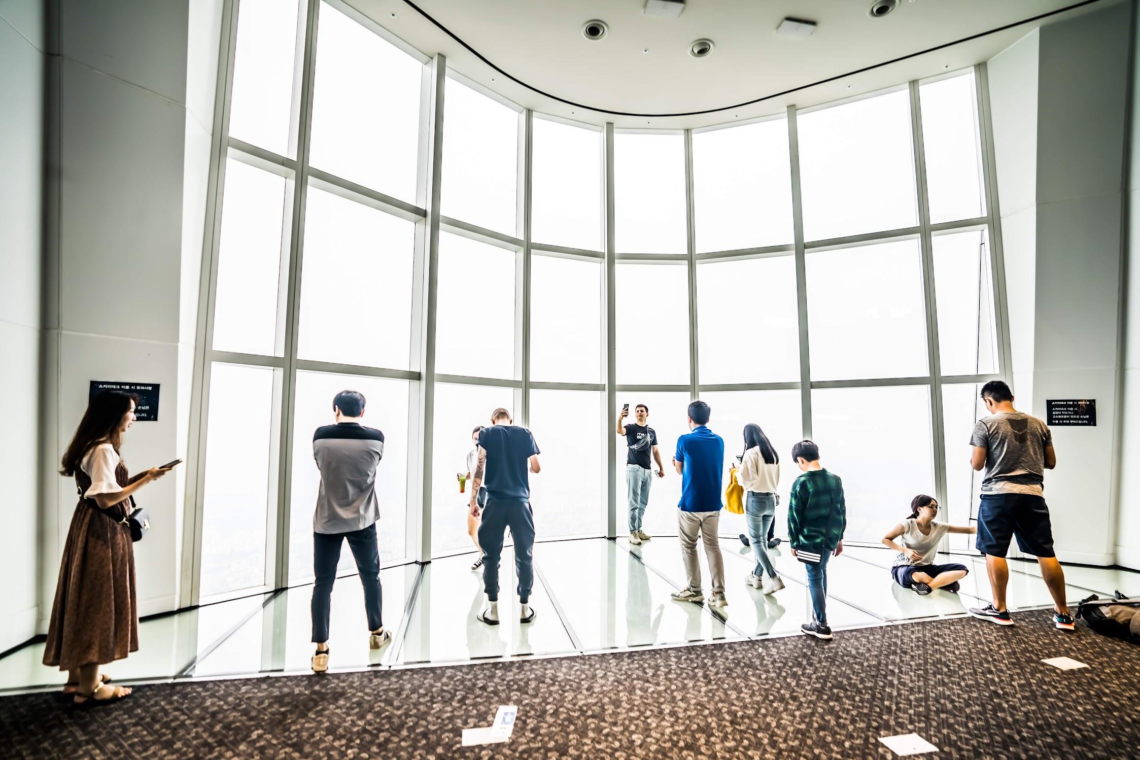 Lotte World Tower Observation Deck2