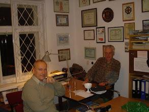 Photo: W klubie SP6PRT 14 listopada 2008 r.