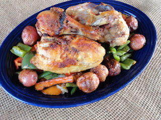 Grilled Guinness Stout Chicken With Potatoes & Vegetables Recipe