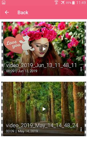 Photo video maker with music screenshot 16