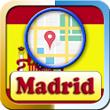 Madrid City Maps and Direction icon