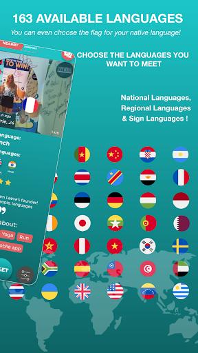 Match - Languages - Meetings - Friends: Leeve 3.4.0 screenshots 3