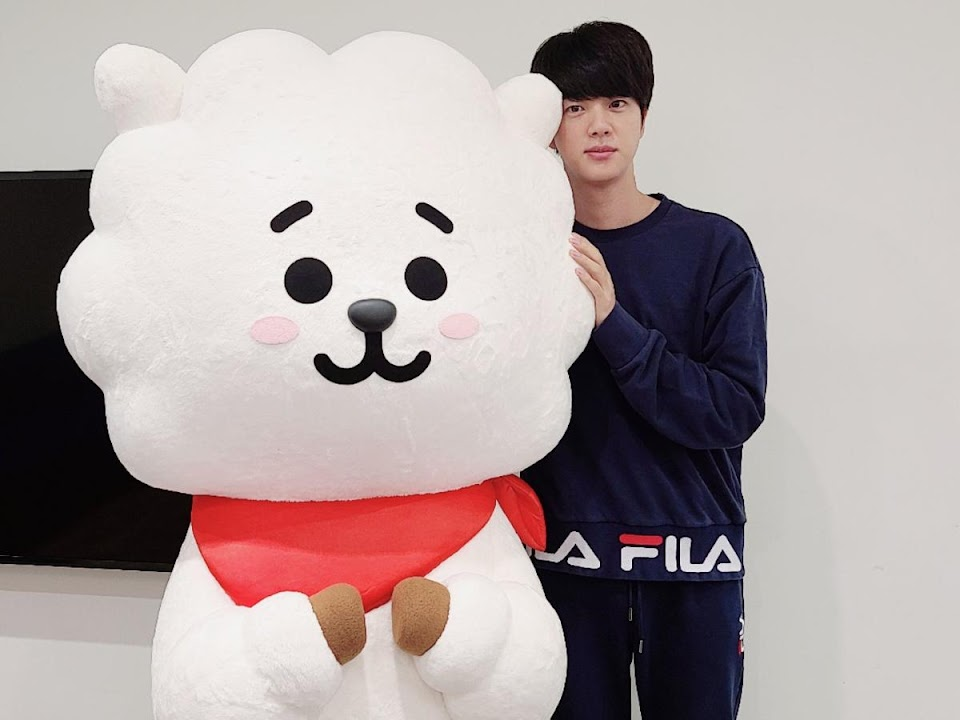jins-birthday-wish-comes-true-gifted-a-life-size-version-of-rj-as-bts-member-quips-hes-planning-to-sell-it
