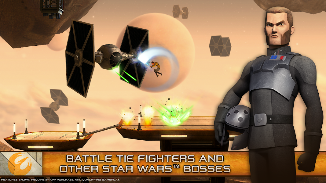 Star Wars Rebels Recon Hack Mod v1.2.0 Apk - Screenshot