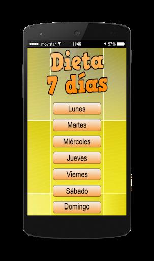 Dieta 7 días