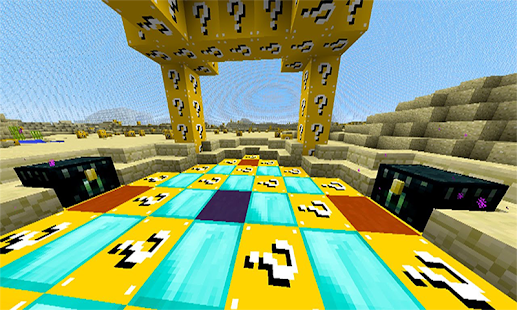 HD Lucky Block Mansion for Minecraft MCPE - náhled
