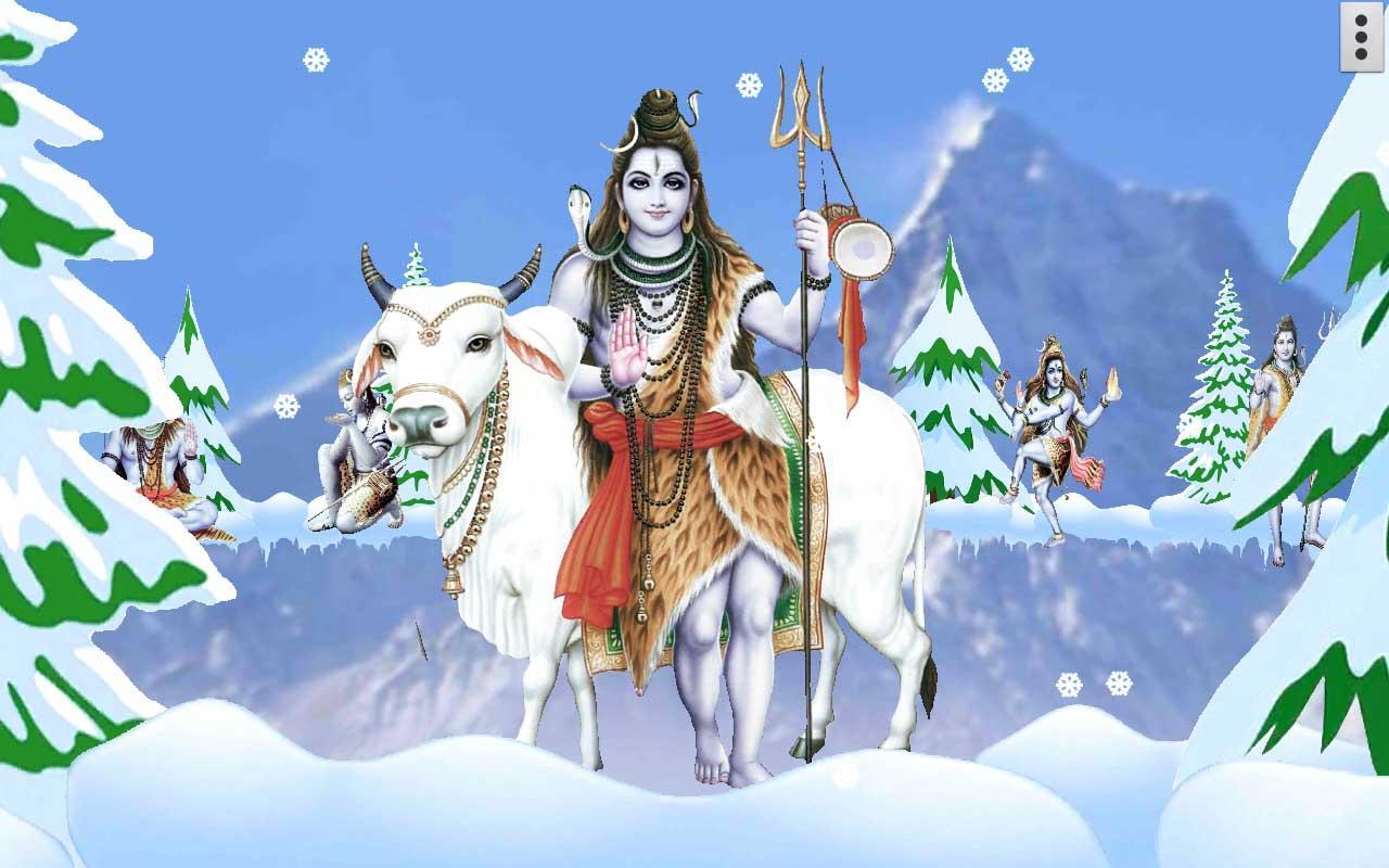 Wallpaper download karne wala apps - 4d Shiva Live Wallpaper Screenshot
