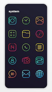 Caelus Icon Pack – Colorful Linear Icons v4.0.4 [Patched] 2