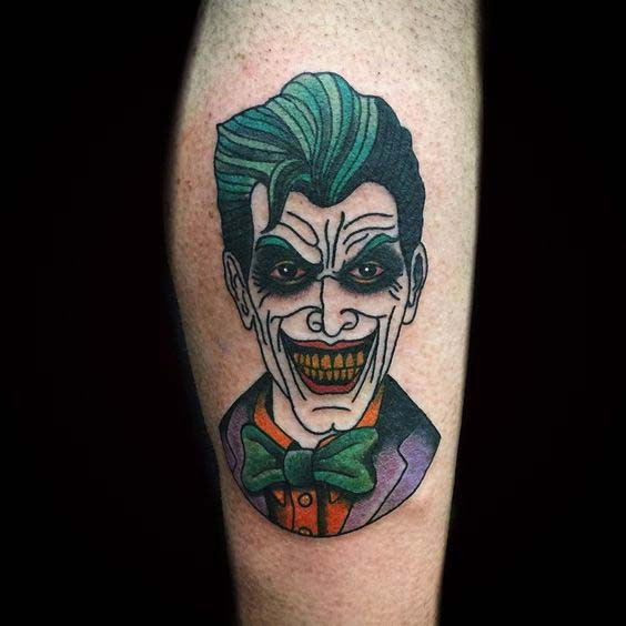 Joker Card Tattoo Ideas: 50 Crazy Joker Tattoos Designs And Ideas For Men And Women