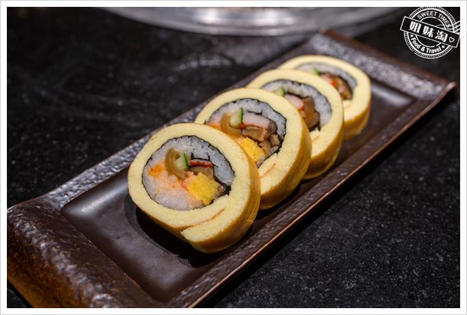 碳佐麻里龍蝦蛋糕卷壽司