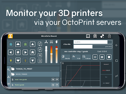 Printoid for OctoPrint [PREMIUM] (3D printing) Screenshot