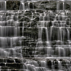 Albion Falls HDR by Brad Chapman - Landscapes Waterscapes ( water, waterfalls, 2013, hdr, falls, mist,  )
