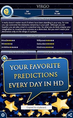 android Virgo Horoscope 2015 HD Screenshot 3