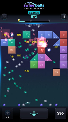 Bricks Breaker: Swipe Balls 1.0.6 screenshots 3