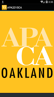 APA California 2015 Conference- screenshot thumbnail