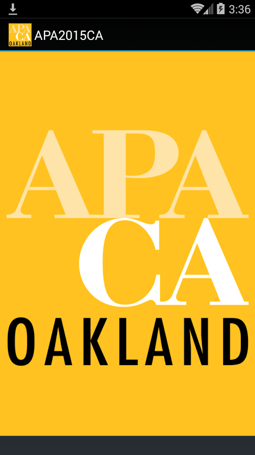 APA California 2015 Conference- screenshot