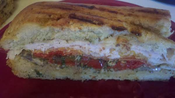 Turkey Pesto Ciao Panini Recipe