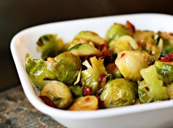 Brussel Sprouts With Onion And Bacon Recipe