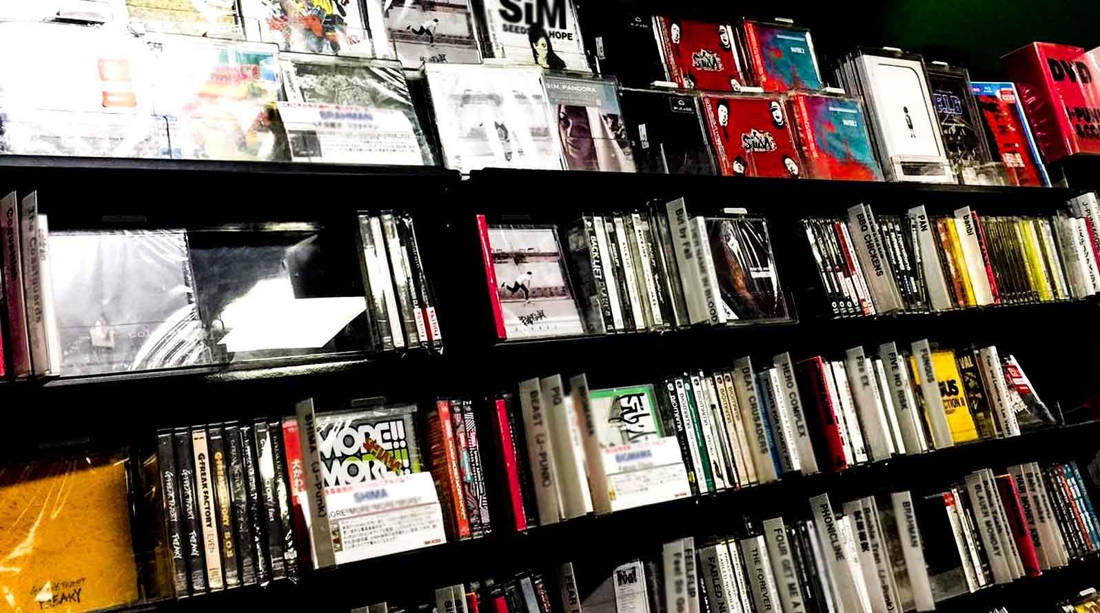 日本 CD店 整理簡介ー 二手CD 篇(2020更新)