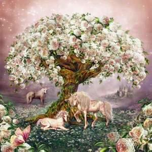 Image result for rose tree painting