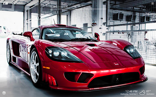 Top Speed Cars HD Wallpapers New Tab Theme