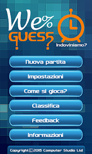 Il Quiz mai visto: WeGuess- screenshot thumbnail