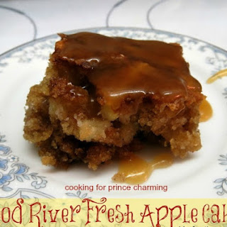 Hood River Fresh Apple Cake