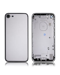 iPhone 7G Back Housing without logo High Quality Silver