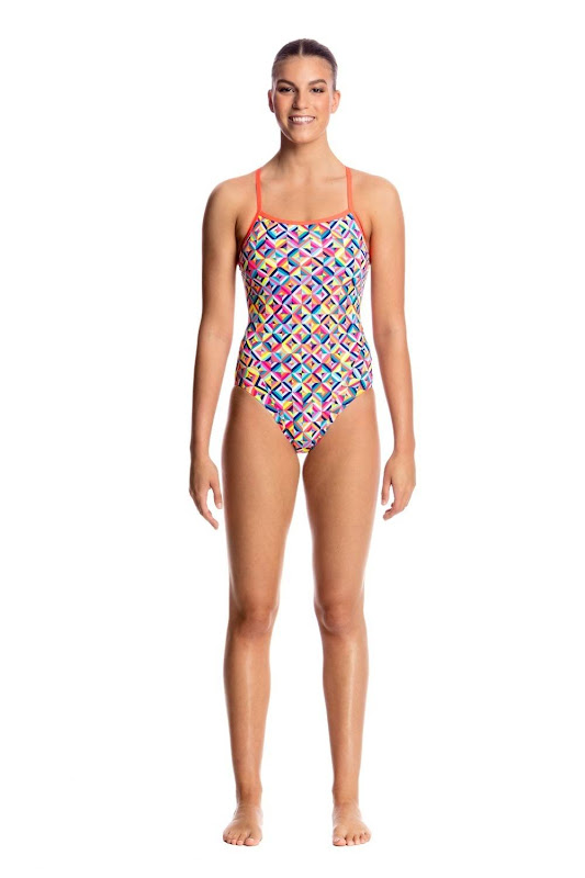 Funkita Ladies Single Strap One Piece Flash Bomb - FS15L01635