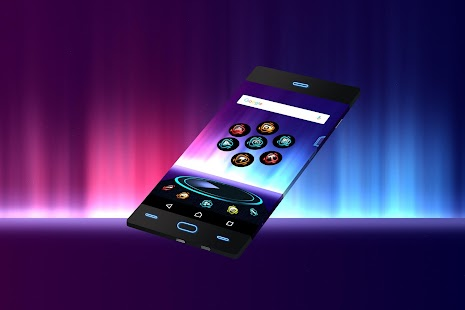 Free Theme for Android Shine3D - náhled