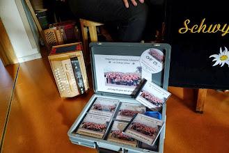 """Photo: Präsentation unserer CD"""" no lang nit gnue mit uf und zue """""""